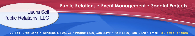 Welcome to the Laura Soll Public Relations Website